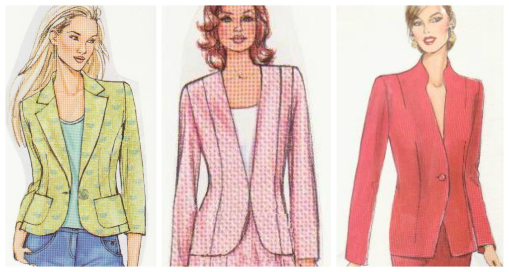 shaped jackets Collage